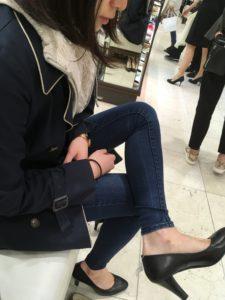 靴のショッピング同行、C.N.様